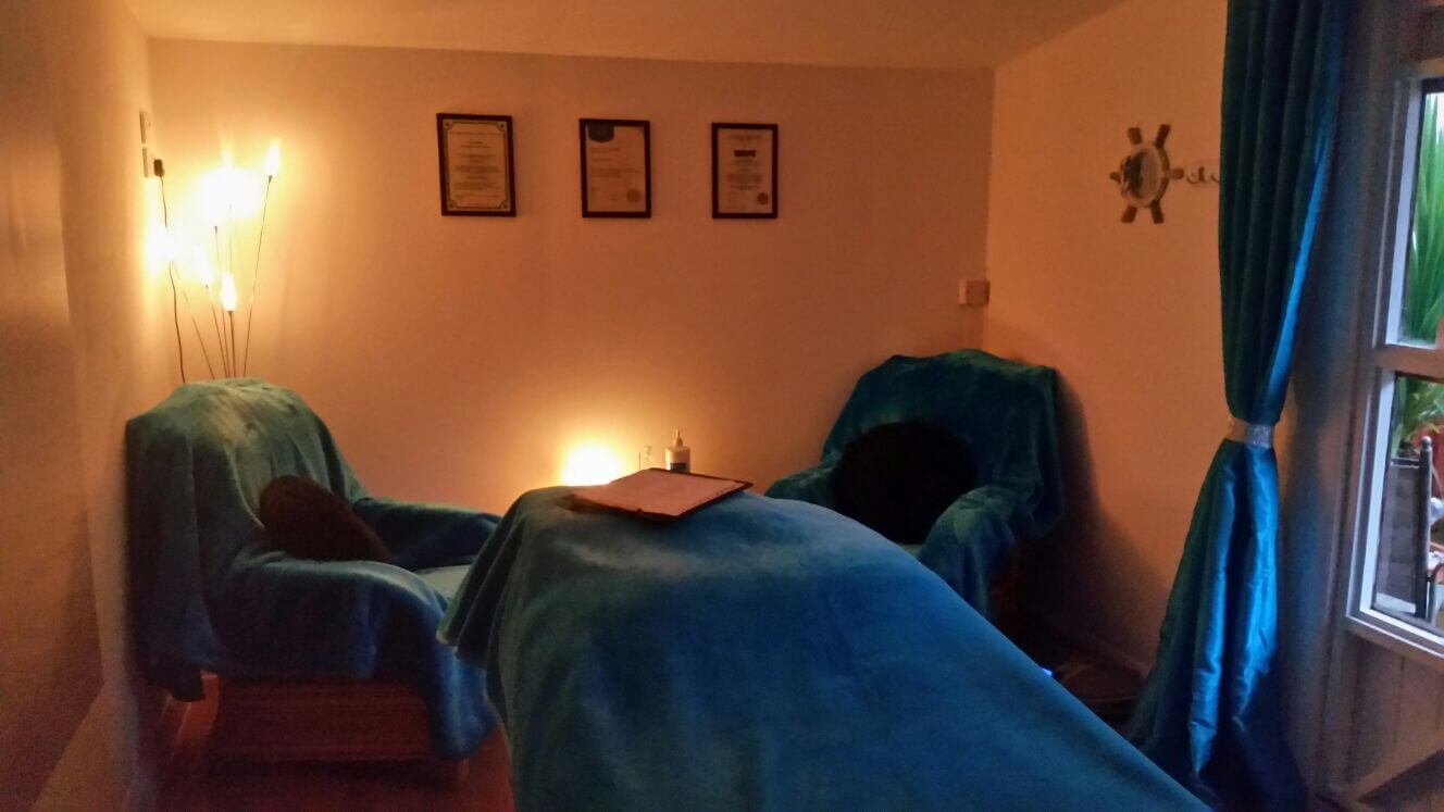 Zena Massage Therapy Room
